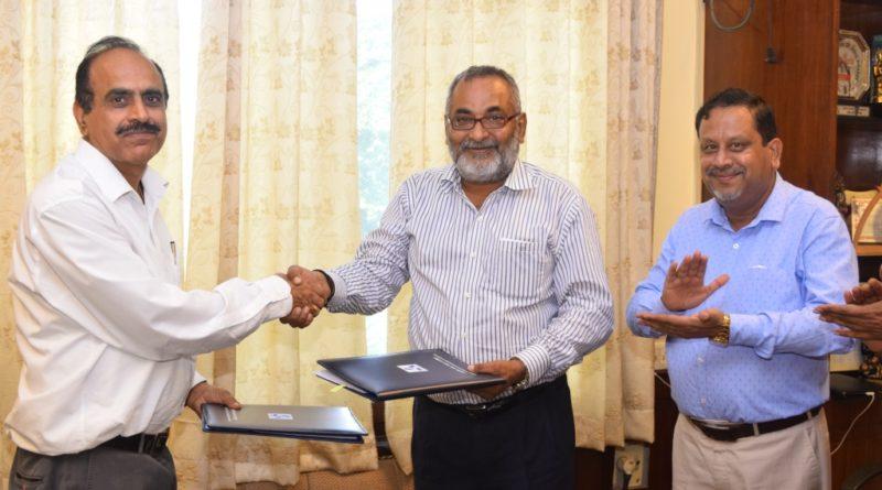 टीएचडीसी एवं आई. आई. एम.-काशीपुर के मध्य समझौता
