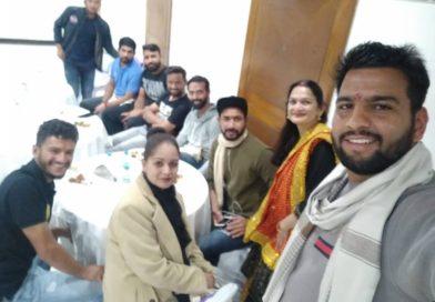 उत्तराखंड रणजी टीम का नागपुर में उत्तराखंड प्रवासियो द्वारा स्वागत